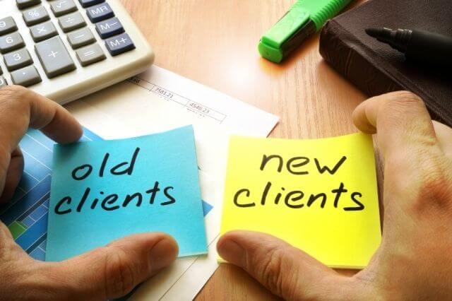 consideración de las acciones del cliente en un service blueprint