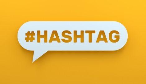 hashtag en tiktok